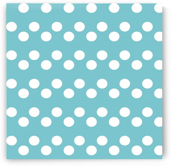 CADET BLUE Polka Dots by rizu_designs