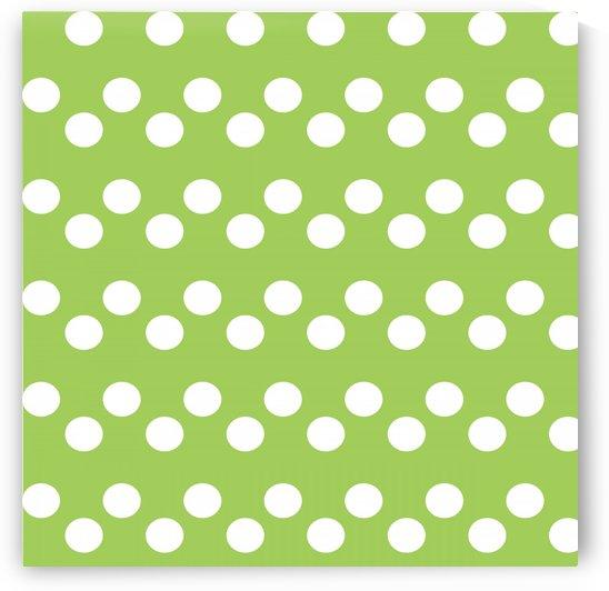 Dark Olive Green Polka Dots by rizu_designs