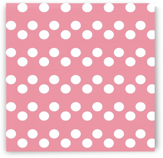 BABY PINK Polka Dots by rizu_designs