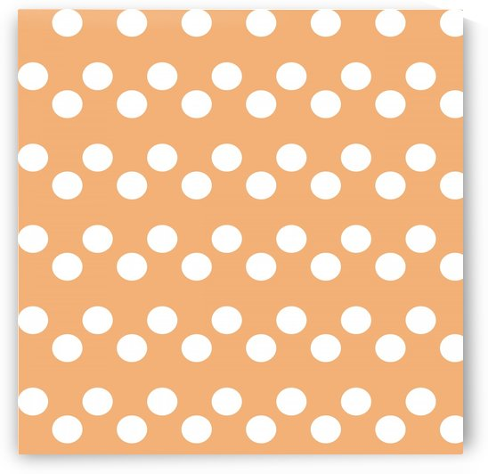 Sandy Brown Polka Dots by rizu_designs