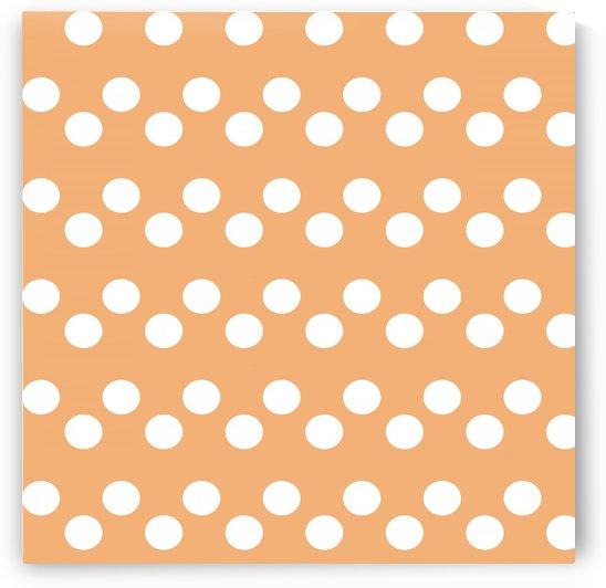 Sandy Brown Polka Dots by rizu_designs