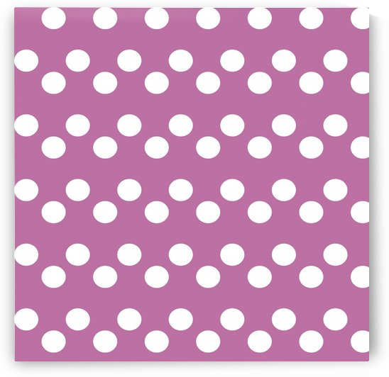 Spring Crocus Polka Dots by rizu_designs