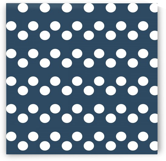Sailor Blue Polka Dots by rizu_designs
