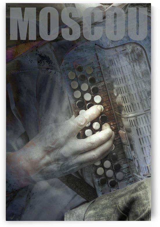 Affiche Moscou by Jean-Louis Desrosiers