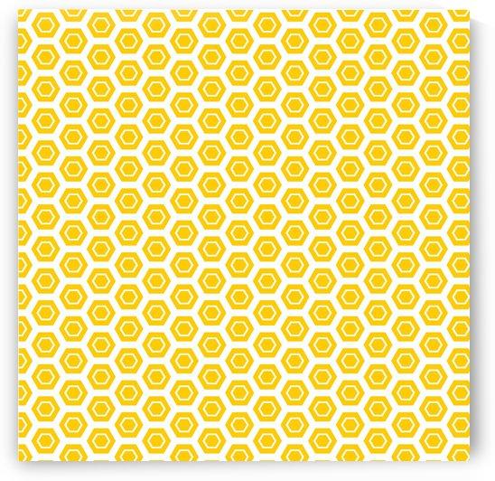 Yellow  Hexagen by rizu_designs