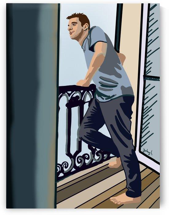Dan in Paris by Eric Yarbrough