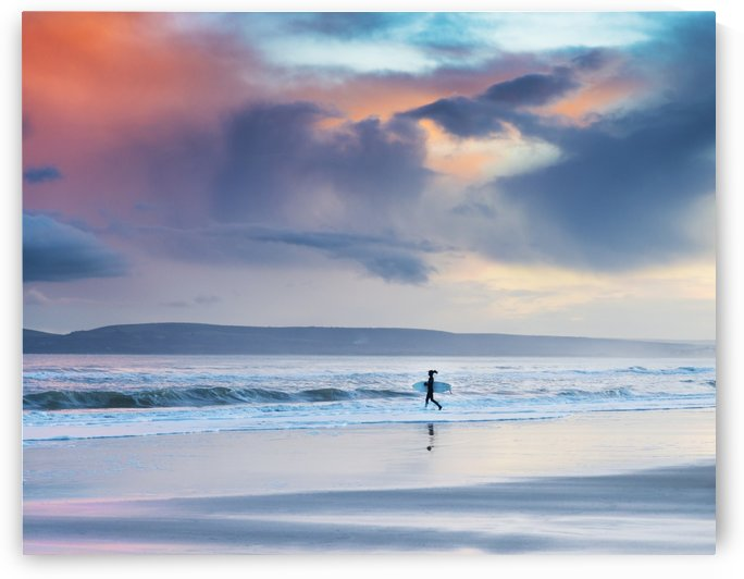 SUNSET SURFER by ANDREW LEVER GALLERY