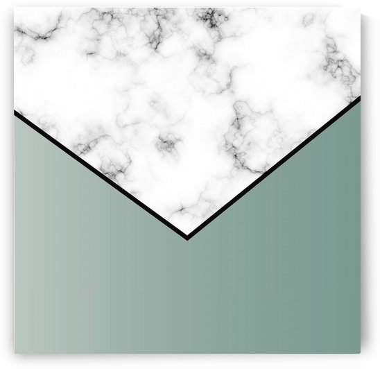 ABSTRACT GREY GREEN MODERN MARBLE by rizu_designs