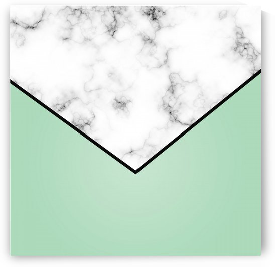 ABSTRACT GREEN PASTEL MODERN MARBLE by rizu_designs