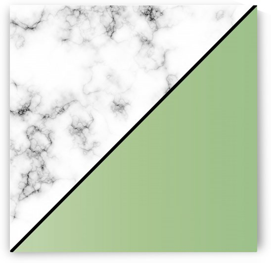 ABSTRACT MODERN YELLOW GREEN MARBLE by rizu_designs