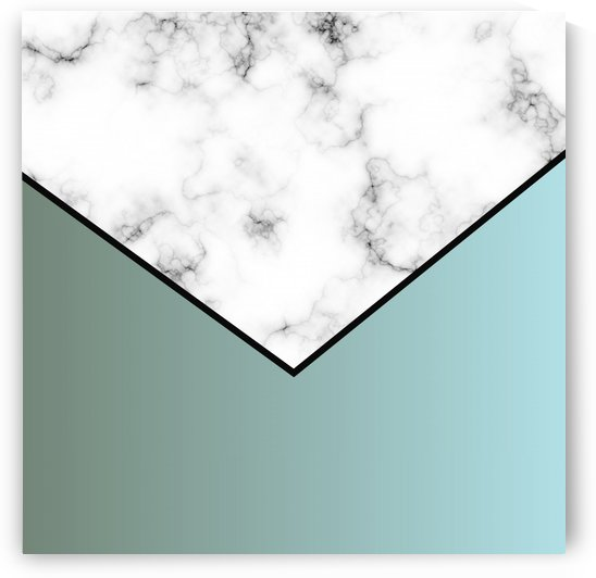 ABSTRACT GRAYISH BLUE MODERN MARBLE by rizu_designs