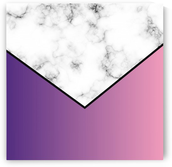 ABSTRACT PURPLE MODERN MARBLE by rizu_designs