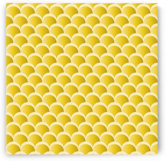 YELLOW MERMAID PATTERN by rizu_designs