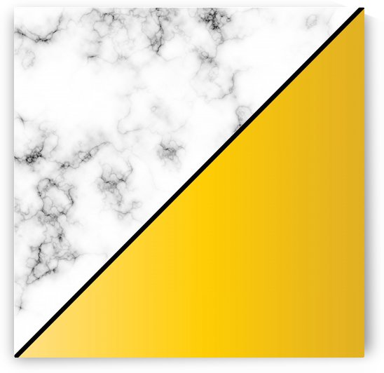 ABSTRACT MODERN YELLOW MARBLE by rizu_designs