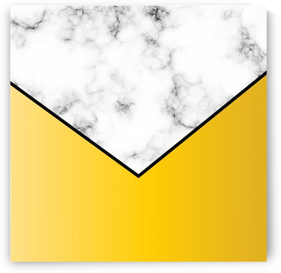 ABSTRACT YELLOW PASTEL MODERN MARBLE by rizu_designs