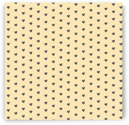 Banana Mania Heart Shape Pattern by rizu_designs