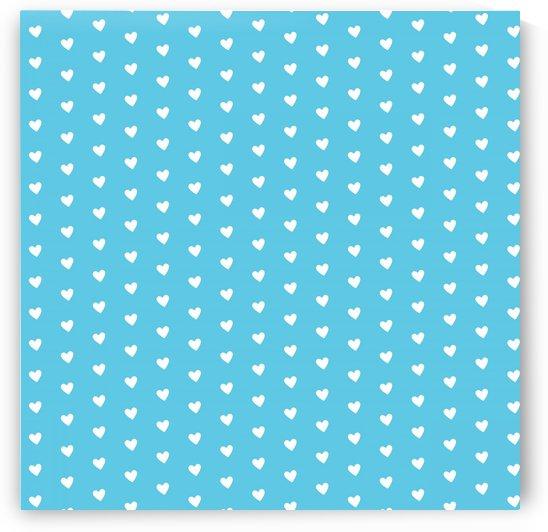 AQUA Heart Shape Pattern by rizu_designs