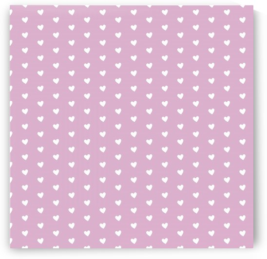 Lavender Heart Shape Pattern by rizu_designs