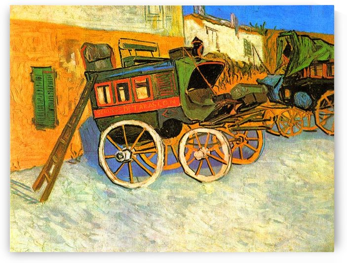 The coach of Tarascon by Van Gogh by Van Gogh