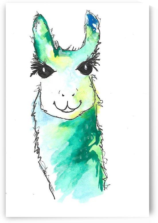 llama  by Corinne Ladd