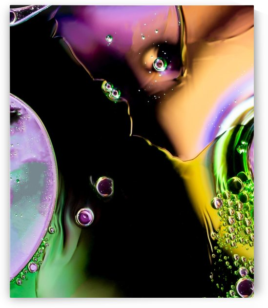 Lonely Teardrops Abstract by Terry Walsh Images