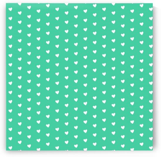 Shamrock Heart Shape Pattern by rizu_designs