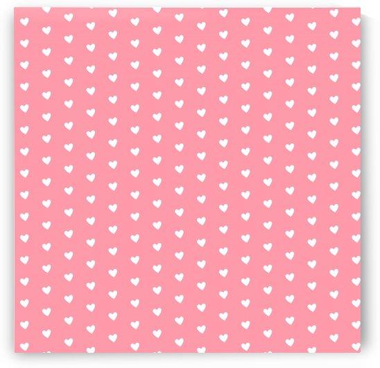 Salmon Heart Shape Pattern by rizu_designs