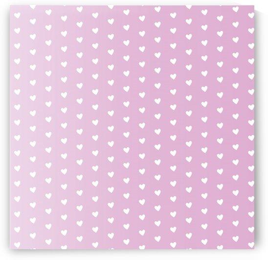 Spring Pink Heart Shape Pattern by rizu_designs