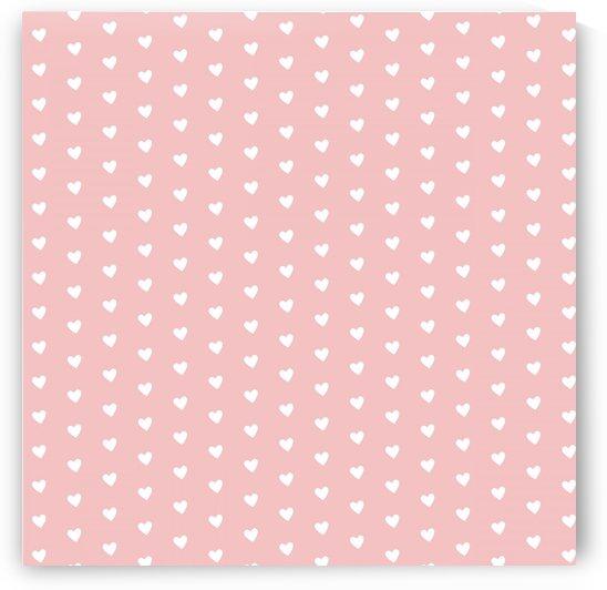 Tea Rose Heart Shape Pattern by rizu_designs