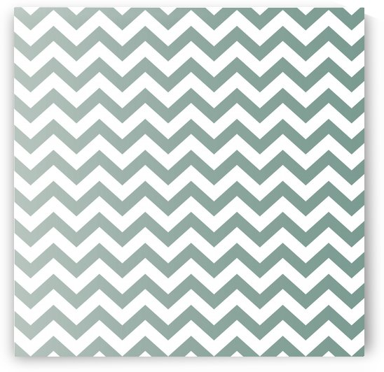 GREY GREEN CHEVRON by rizu_designs