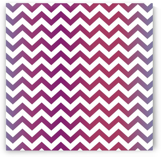 GRADIENT CHEVRON by rizu_designs