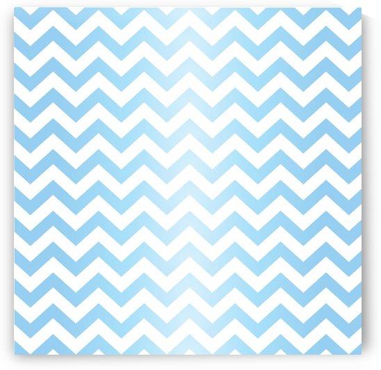 BLUE  PASTEL CHEVRON by rizu_designs