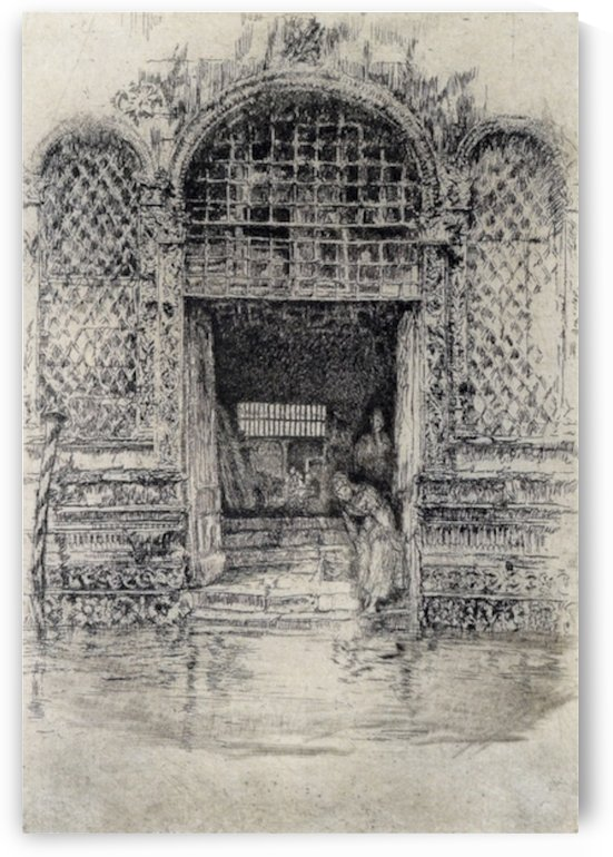 The Doorway by Whistler by Whistler