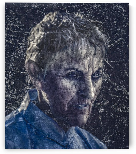 Senior Zombie Portrait   Photo Manipulation Art by Daniel Ferreia Leites Ciccarino