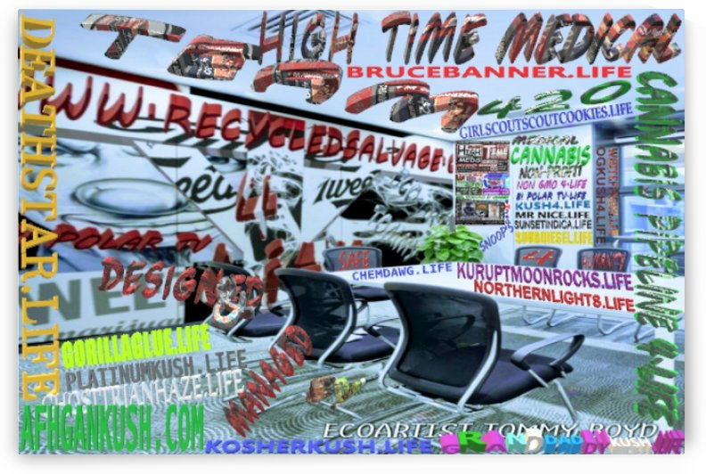 BRANDED & TRADEMARKED CANNABIS STRAINS 2 by KING THOMAS MIGUEL BOYD