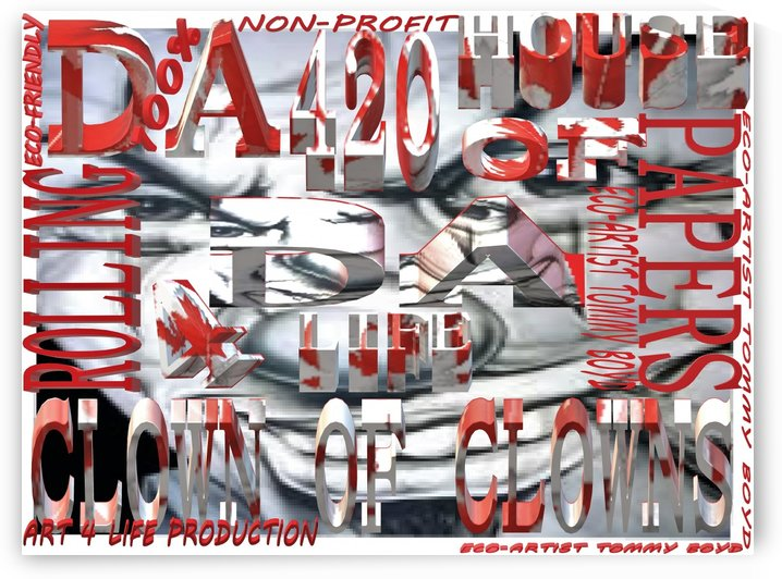 DA CLOWN OF CLOWN ROLLING PAPERS 3 by KING THOMAS MIGUEL BOYD