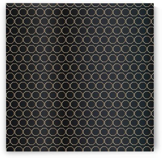 Black Honeycomb by rizu_designs