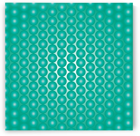 Turquoise Pearl Pattern by rizu_designs