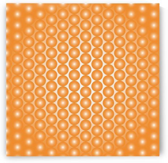 Orange Pearl Pattern by rizu_designs