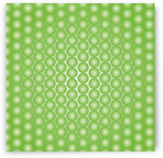 Yellow Green Pearl Pattern by rizu_designs