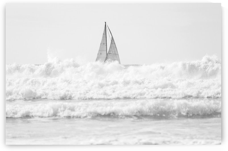 SAILING IN THE SURF by ANDREW LEVER GALLERY