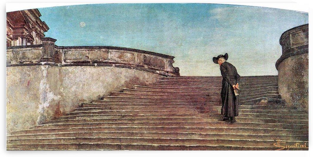 The first trade fair by Giovanni Segantini by Giovanni Segantini