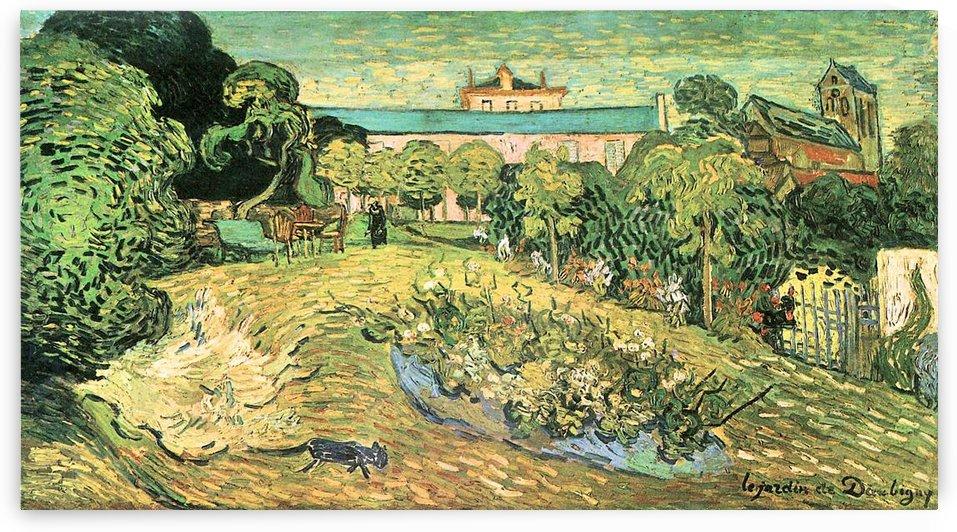 The garden of Daubigny by Van Gogh by Van Gogh