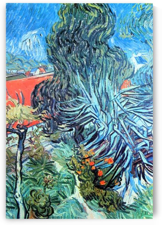 The garden of Dr. Gachet by Van Gogh by Van Gogh