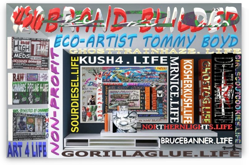 BRANDED & TRADEMARKED CANNABIS STRAINS 1 by KING THOMAS MIGUEL BOYD