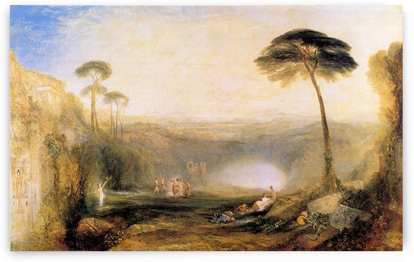 The Golden Branch by Joseph Mallord Turner by Joseph Mallord Turner
