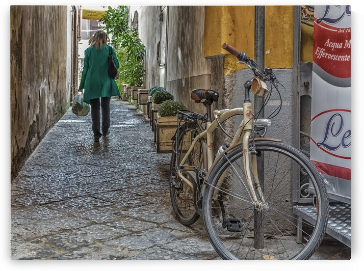 Alley in Sorrento by Darryl Brooks