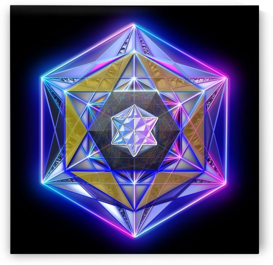 Mandala of Simulated Reality by Tom Scott