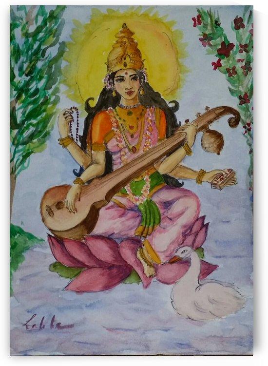 Godesse Saraswati  by lalitavv