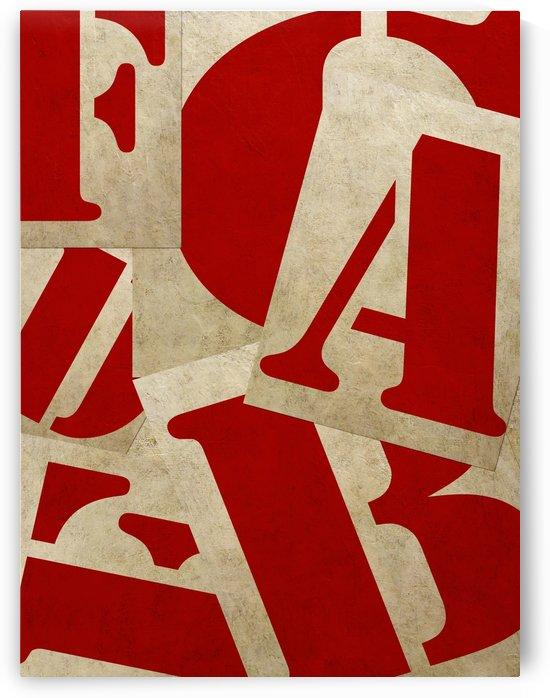 Edit Voros Typography Art Nr.1002 by Edit Voros